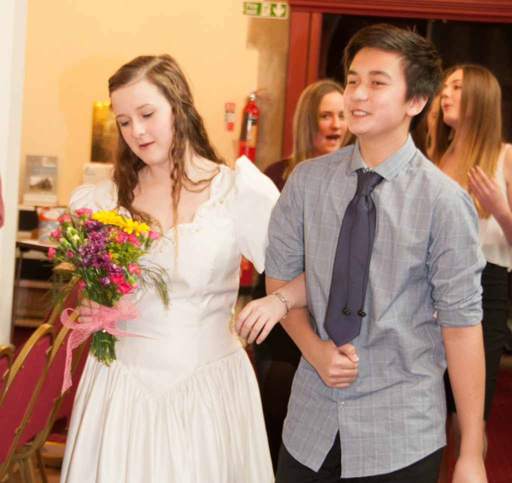 The prohibition of mock weddings in the church