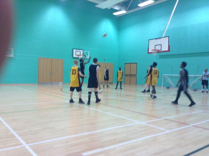 Brades Basketball Shenstone Lodge School