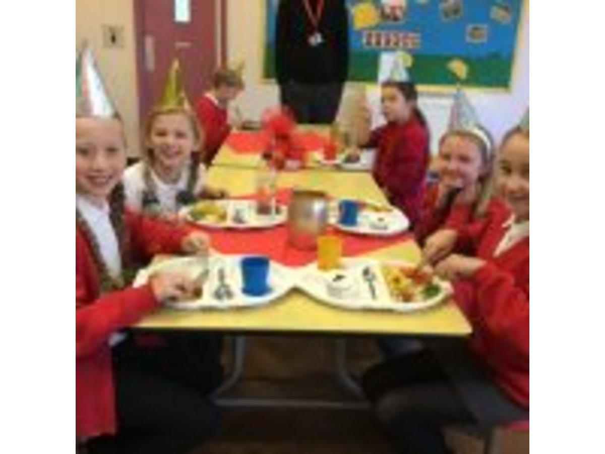 Christmas Dinner Springfield Primary Academy