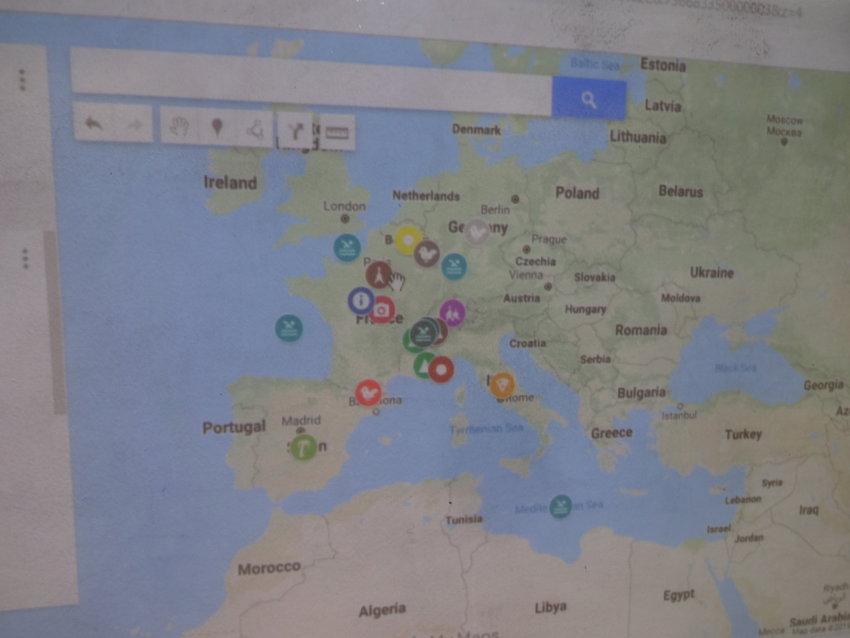 Map Of France Ks2.Ks2 French Week June 2019 St John S C Of E Primary School