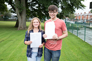 Head Girl Jade gets her results