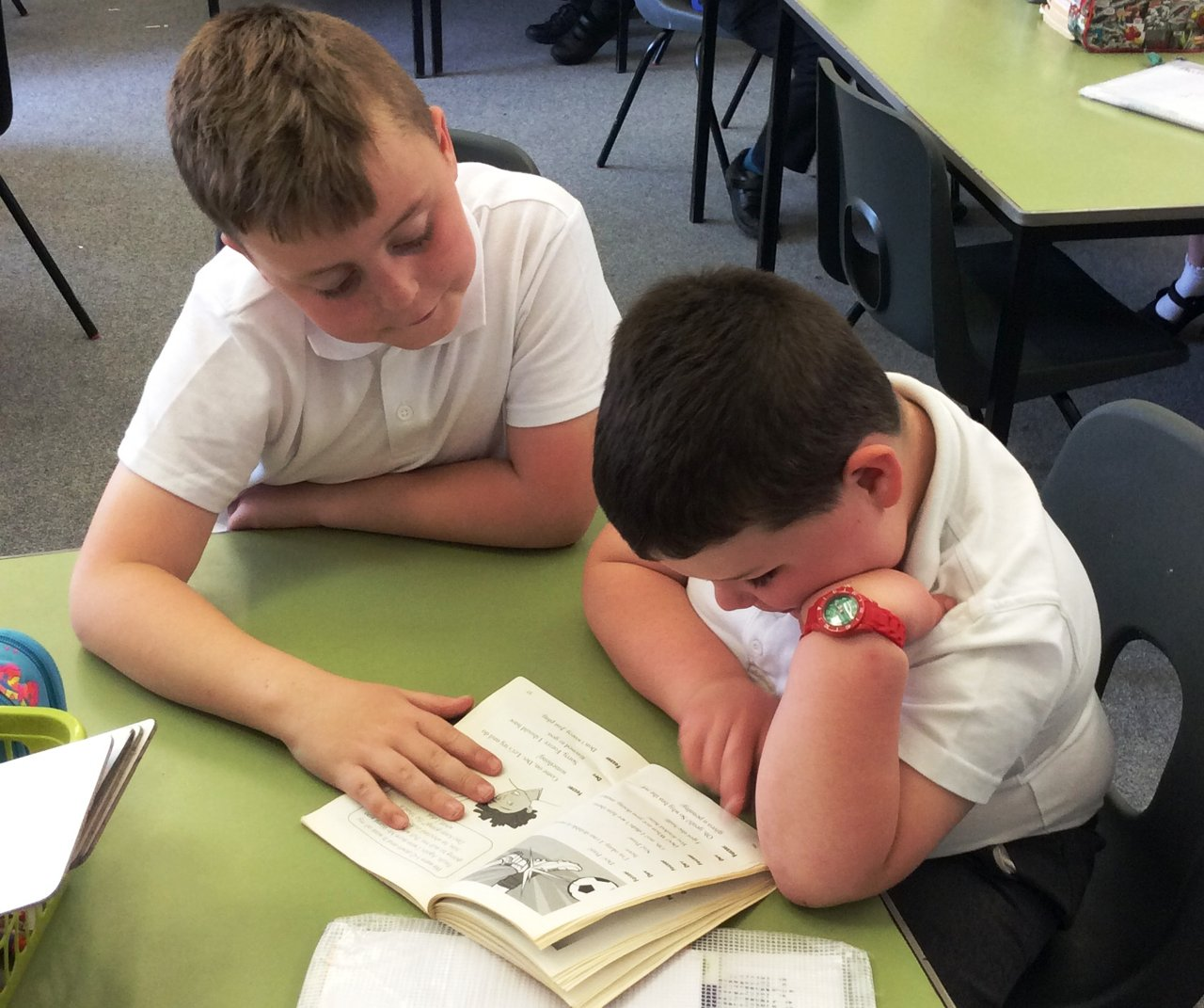 paired reading A reading intervention that can run for four to six weeks this can operate with senior cycle students working with junior cycle students or as jcsp students working as part of a cross age paired reading programme whereby the jcsp students act as the tutors to primary school pupils.