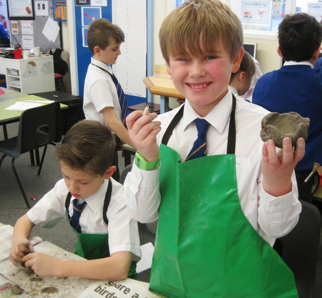 Year 4 & the Bronze Age | St. Michael\'s C.E. Primary School