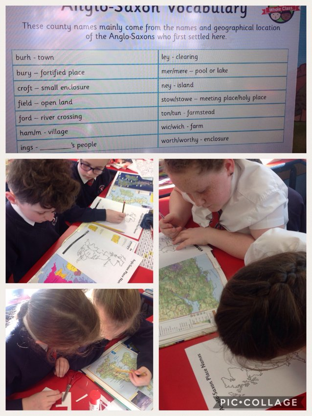 Anglo - Saxon Vocabulary investigation | St Stephen's C of E Primary