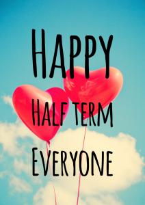 Happy Half Term!   Holy Trinity CE Primary Academy and Nursery