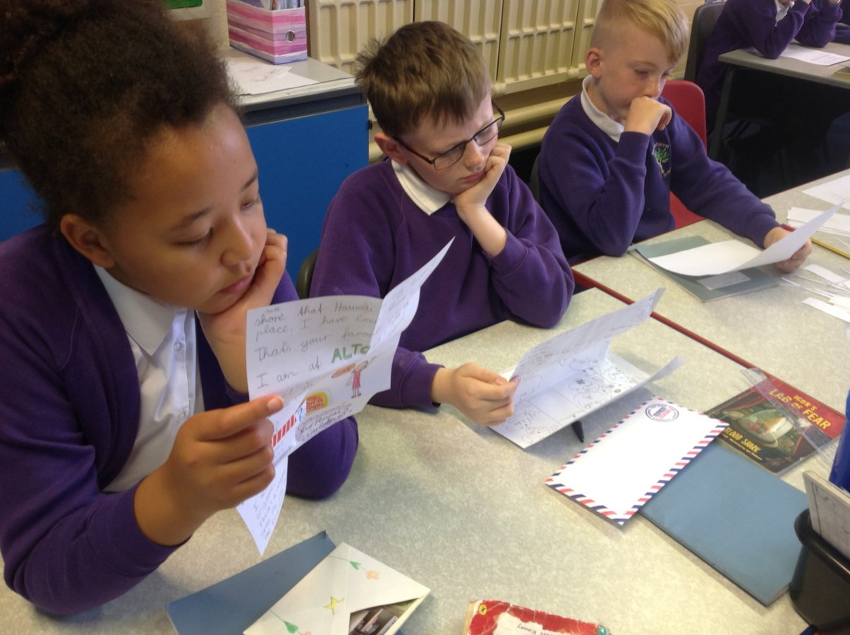 Year 5 Pen Pals | Trawden Forest Primary School