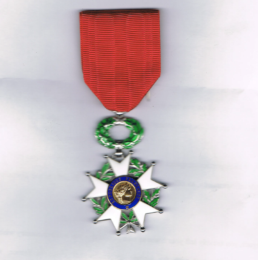 West Hill Old Boy Awarded The French Legion of Honor | West