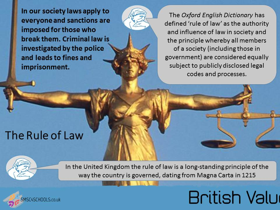 """rule of law in uk essay The rule of law comprises a number of principles of a formal and  what he  saw as a decline in respect for the rule of law in england  oakeshott, m,  1983, """"the rule of law"""", in his on history, and other essays,."""
