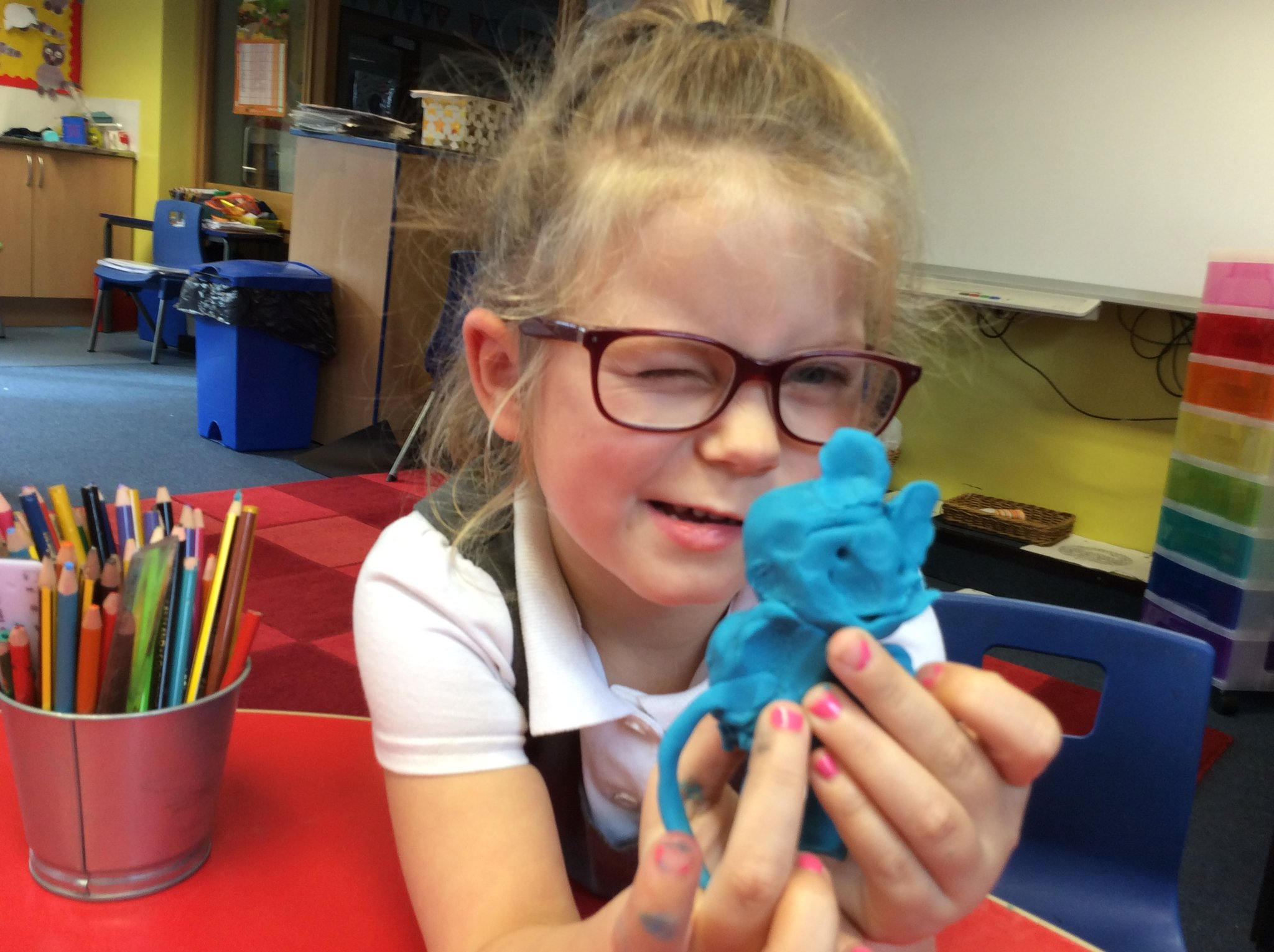 Modelling clay in Y1