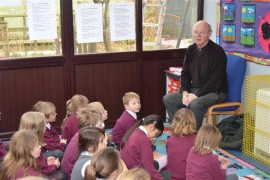 Rev. Gary joins us for worship each week