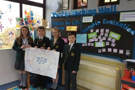 St Thomas's Pupil Ethos Team visits Winmarleigh